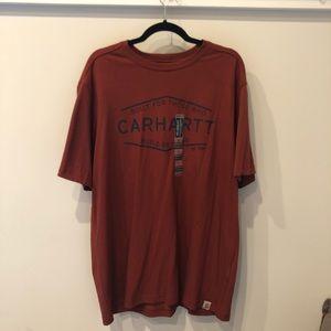 NWT Carhartt Burnt Red T-Shirt